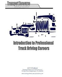 Trucking as a Career – Build Your Career the Smart Way!