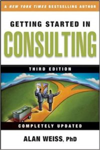 Book Cover: Getting Started in Consulting